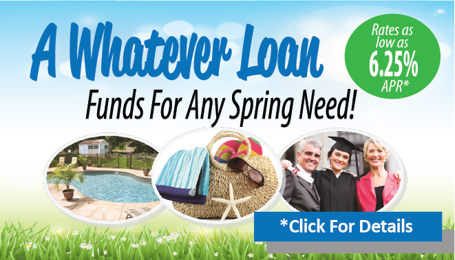 Funds for Whatever Spring Need You Have!