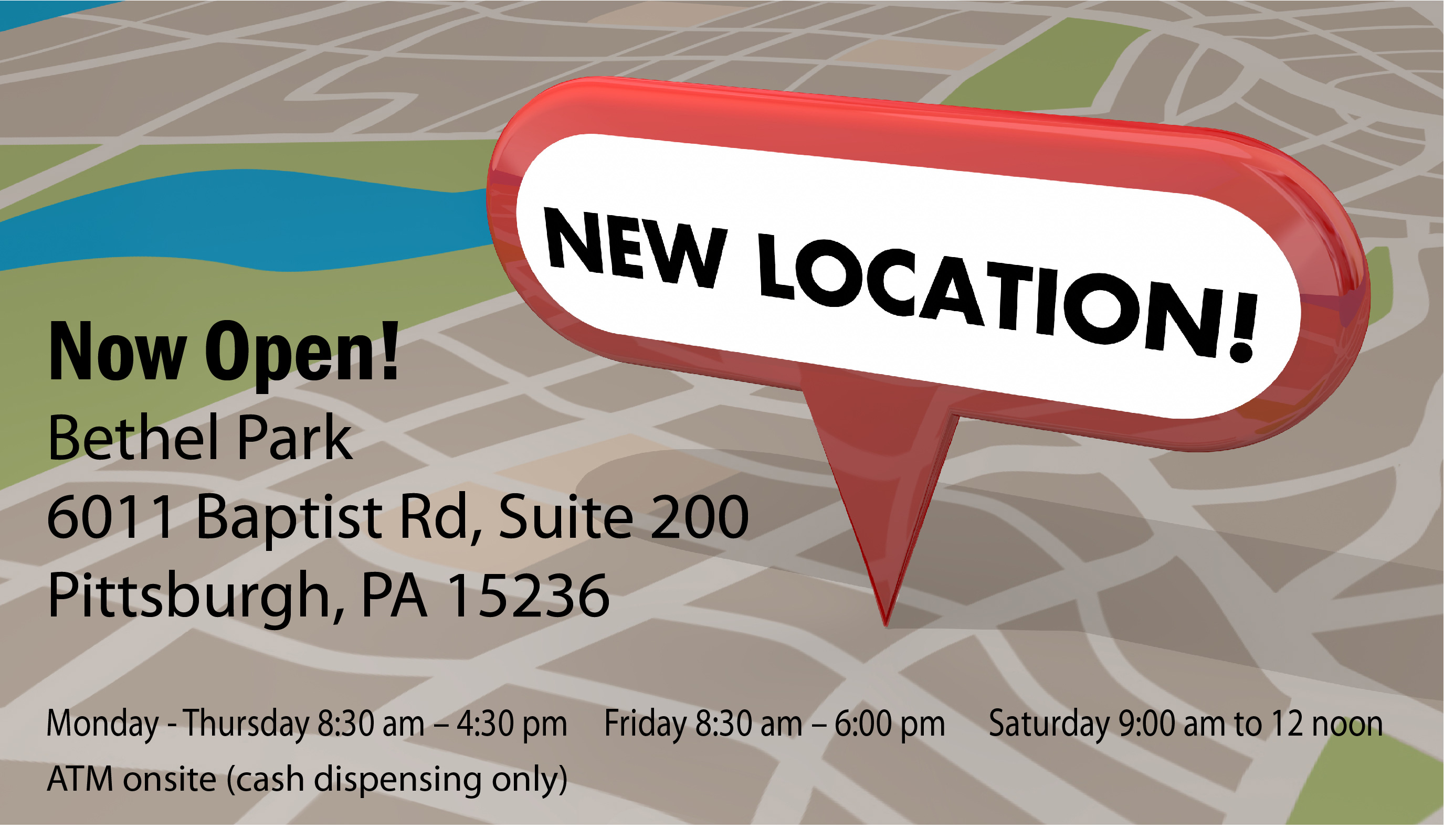 Our Bethel Park Branch is Now Open!