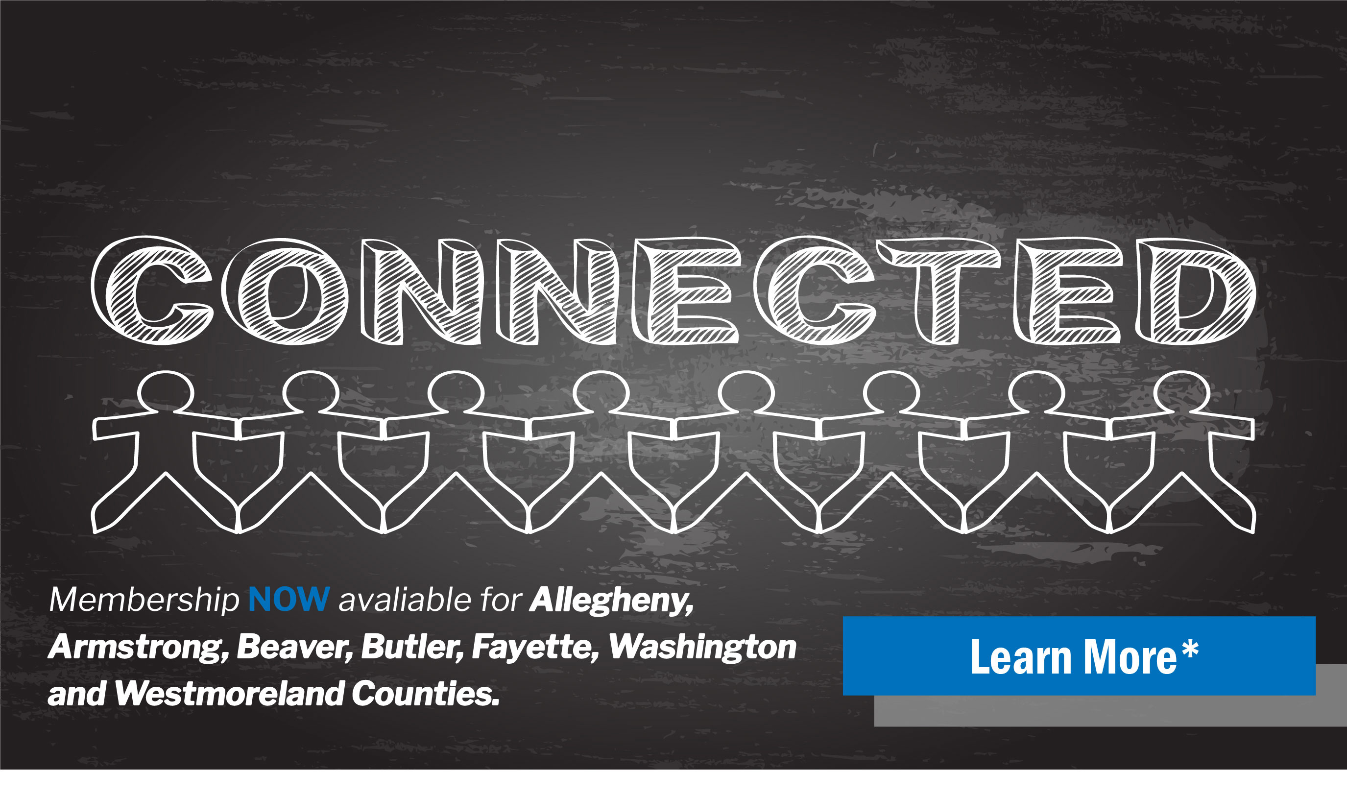 Membership Now Available for Allegheny, Armstrong, Beaver, Butler, Fayette, Washington, and Westmoreland Counties!