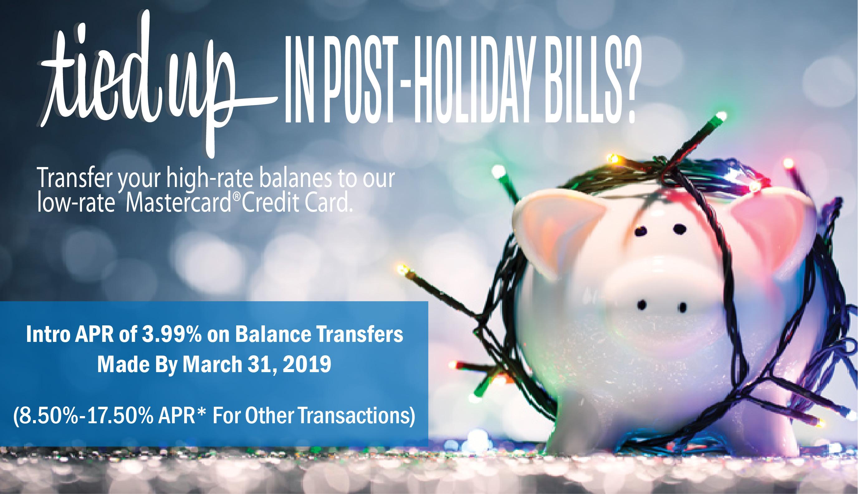 Transfer Your  Credit Card Balances Today!