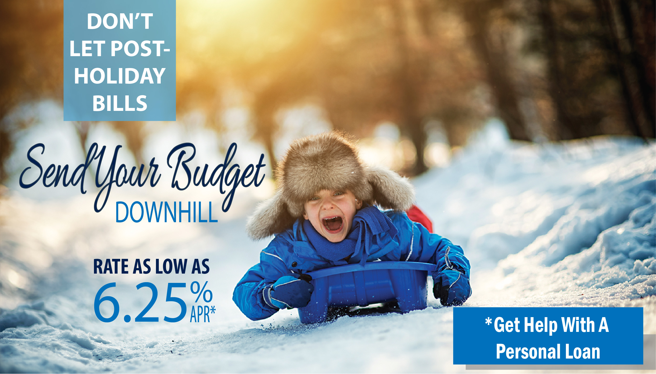 Consolidate to a CHFCU Personal Loan and make your savings snowball!