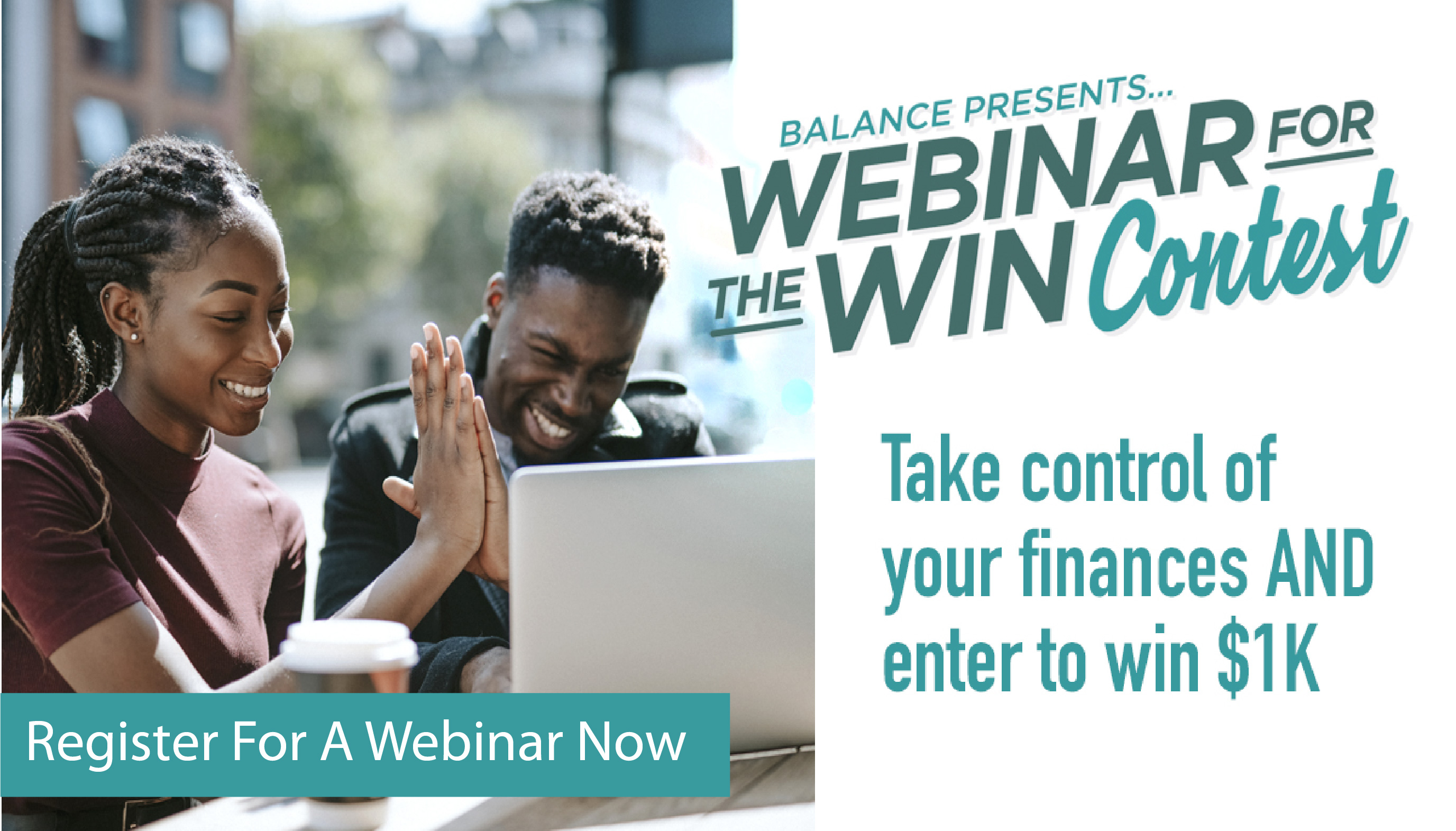 Take Control of your Finances and enter to win $1000!