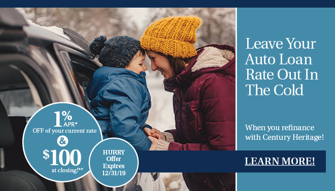 Refinance your vehicle at CHFCU and SAVE!