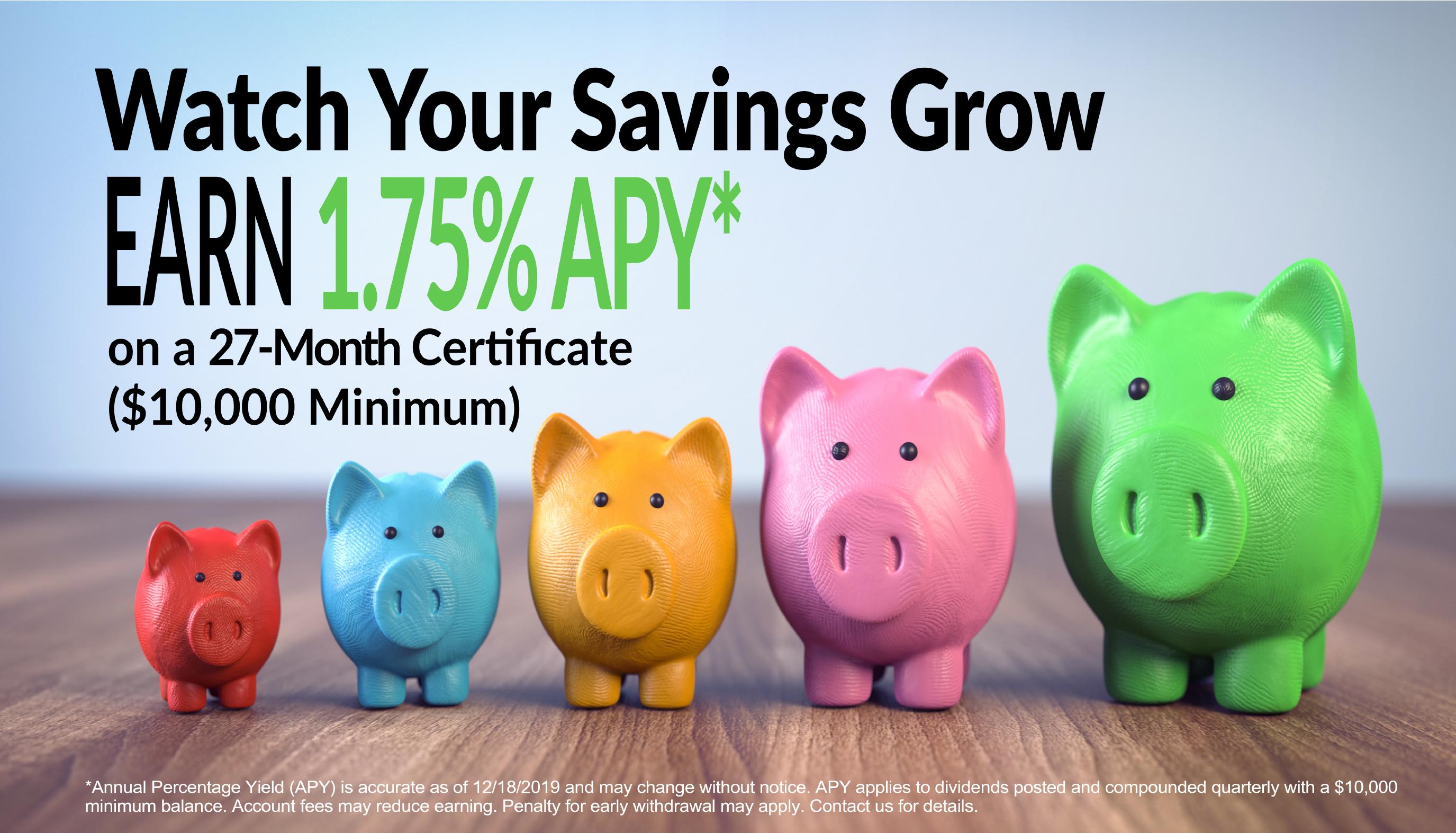 Watch Your Savings Grow!