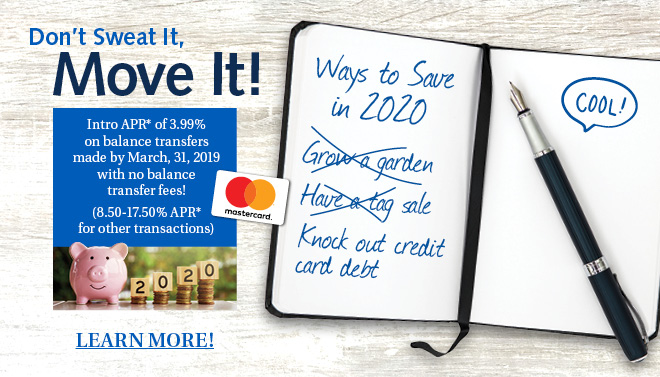 Knock out Credit Card debt by transferring your balance today!