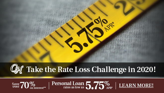 Shed Your Debt with a Personal Loan!