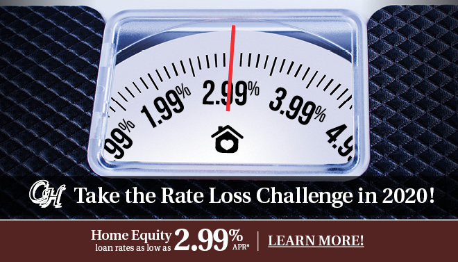 MAKE 2020 THE YEAR YOU FINALLY PAY DOWN YOUR DEBT with a Home Equity Loan!