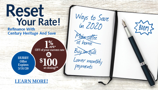 Refinance and SAVE in the New Year!