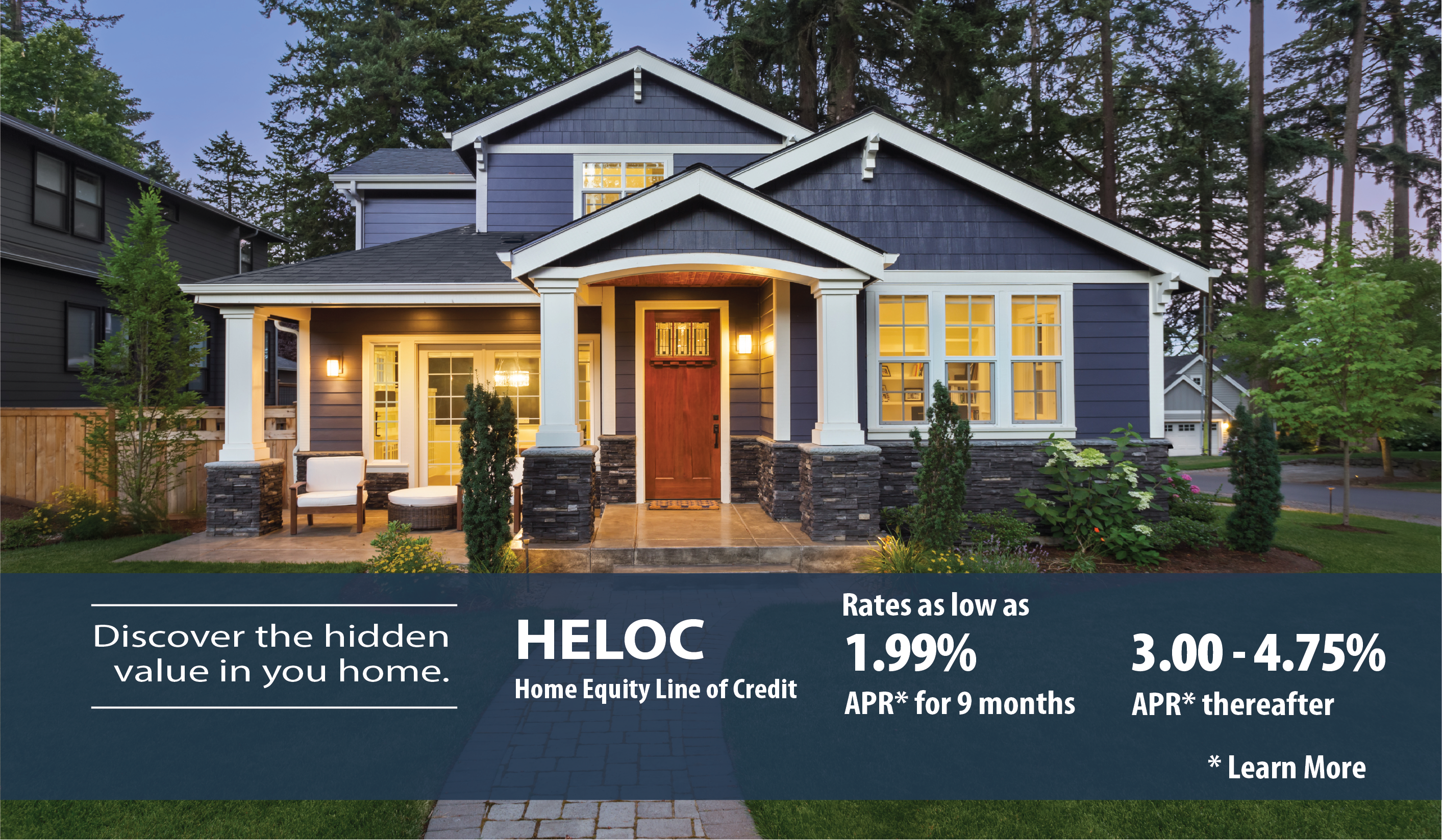 Access the equity in your home, for what you want, when you need it.