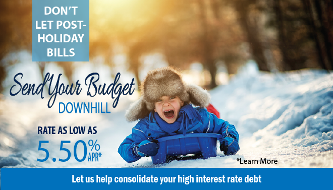 Send your debt downhill with a Personal Loan!