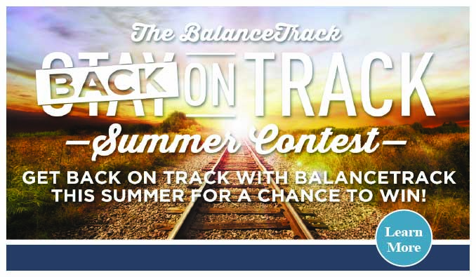 """The BalanceTrack """"Back on Track"""" Summer Contest"""